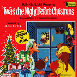 film music site twas the night before christmas soundtrack maury laws disneyland records 1976 - Twas The Night Before Christmas Movie