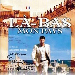 Là-Bas... Mon Pays Soundtrack (Philippe Sarde) - CD cover