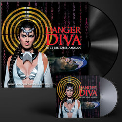 Danger Diva Soundtrack (Thunderpussy , Robert McGinley, Regan Remy) - cd-inlay