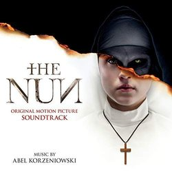 The Nun Soundtrack (Abel Korzeniowski) - CD cover