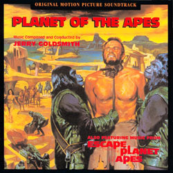 Planet of the Apes Soundtrack (Jerry Goldsmith) - CD cover