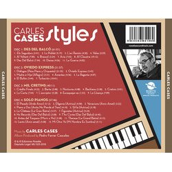 Carles Cases Styles Soundtrack (Carles Cases) - CD Achterzijde