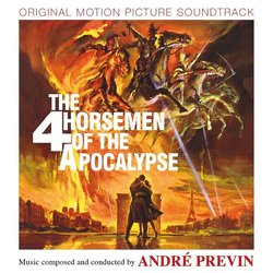 The Four Horsemen Of The Apocalypse 声带 (André Previn) - CD封面