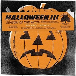 Halloween III: Season Of The Witch Soundtrack (Alan Carpenter, John Howard) - CD cover