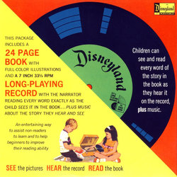 The Story of The Swiss Family Robinson Soundtrack (Various Artists, Mouseketeer Chorus, Lois Lane) - CD Achterzijde