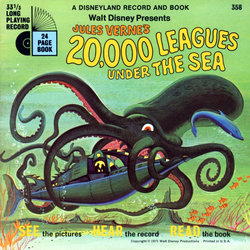 Jules Verne's 20,000 Leagues Under The Sea Soundtrack (Various Artists, Lois Lane, The Wellingtons) - Carátula