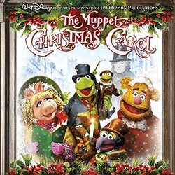 The Muppet Christmas Carol 声带 (Miles Goodman) - CD封面