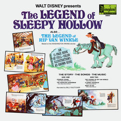 The Legend of Sleepy Hollow Soundtrack (Various Artists, Billy Bletcher, Oliver Wallace) - CD Achterzijde