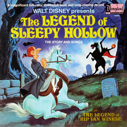 The Legend of Sleepy Hollow Soundtrack (Various Artists, Billy Bletcher, Oliver Wallace) - CD cover