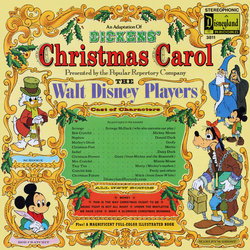 Christmas Carol Soundtrack (Various Artists, The Walt Disney Players) - CD cover