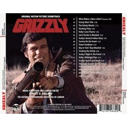 Grizzly Bande Originale (Robert O. Ragland) - CD Arrière