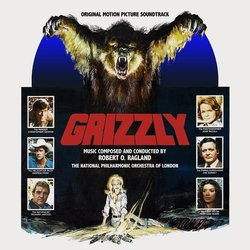 Grizzly Bande Originale (Robert O. Ragland) - Pochettes de CD