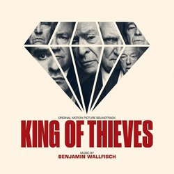 King of Thieves Bande Originale (Benjamin Wallfisch) - Pochettes de CD