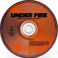 Under Fire Soundtrack (Jerry Goldsmith) - cd-inlay