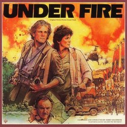 Under Fire Colonna sonora (Jerry Goldsmith) - Copertina del CD