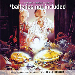 *batteries not included Soundtrack (James Horner) - Carátula