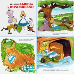 Alice In Wonderland Soundtrack (Various Artists, Darlene Gillespie, Oliver Wallace) - cd-inlay