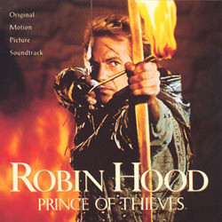 Robin Hood: Prince of Thieves Soundtrack (Michael Kamen) - CD cover