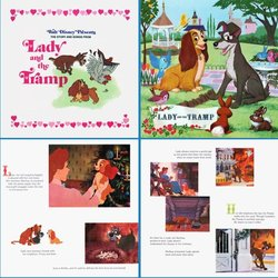 Lady and the Tramp Soundtrack (Various Artists, Ginny Tyler, Oliver Wallace) - cd-inlay