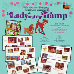 Lady and the Tramp Soundtrack (Various Artists, Ginny Tyler, Oliver Wallace) - CD Achterzijde