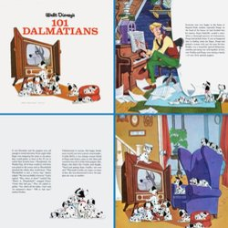 101 Dalmatians Soundtrack (Various Artists, George Bruns, Mel Leven) - CD-Inlay