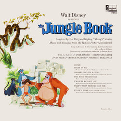 The Jungle Book 声带 (Various Artists, George Bruns) - CD后盖