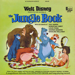 The Jungle Book 声带 (Various Artists, George Bruns) - CD封面