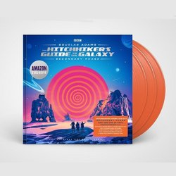 Hitchhikers Guide To The Galaxy: Secondary Phase Soundtrack (Douglas Adams) - CD cover