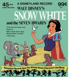 Snow White and the Seven Dwarfs Μουσική υπόκρουση (Adriana Caselotti, Frank Churchill, The Dwarf Chorus, Leigh Harline, Paul J. Smith) - Κάλυμμα CD