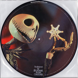The Nightmare Before Christmas Soundtrack (Danny Elfman) - Carátula