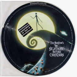 The Nightmare Before Christmas Trilha sonora (Danny Elfman) - CD capa traseira