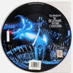 The Nightmare Before Christmas Colonna sonora (Danny Elfman) - Copertina posteriore CD