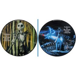 The Nightmare Before Christmas Trilha sonora (Danny Elfman) - CD-inlay