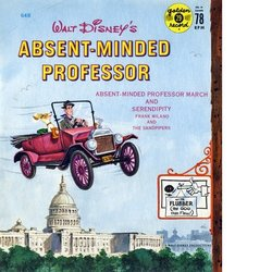 The Absent Minded Professor Soundtrack (George Bruns, Frank Milano, The Sandpipers) - CD-Cover
