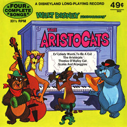 The AristoCats Ścieżka dźwiękowa (George Bruns, Phil Harris, Mike Sammes Singers) - Okładka CD