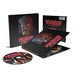 The Predator Μουσική υπόκρουση (Henry Jackman) - cd-inlay