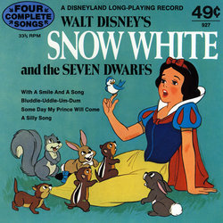 Snow White and the Seven Dwarfs Soundtrack (Various Artists, Adriana Caselotti, Frank Churchill, Leigh Harline, Paul J. Smith) - CD cover