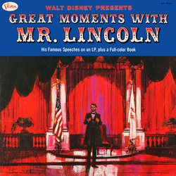 Great Moments With Mr. Lincoln Soundtrack (Various Artists, Buddy Baker, Paul Frees) - CD-Cover