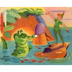 Peter Pan: Monsieur Crocodile Soundtrack (Various Artists, Oliver Wallace) - CD cover