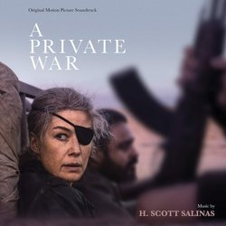 A Private War Soundtrack (H. Scott Salinas) - CD cover