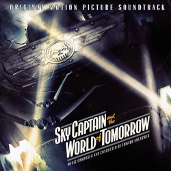 Sky Captain and the World of Tomorrow Soundtrack (Edward Shearmur) - CD cover