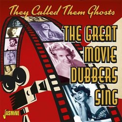 They Called Them Ghosts – The Great Movie Dubbers Sing Soundtrack (Various Artists) - CD cover