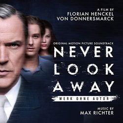 Never Look Away Soundtrack (Max Richter) - CD cover