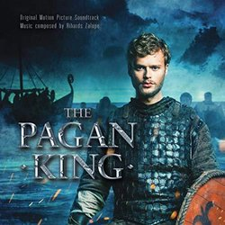 The Pagan King Soundtrack (Rihards Zalupe) - CD cover