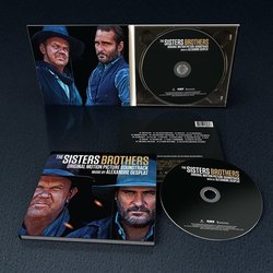 The Sisters Brothers Soundtrack (Alexandre Desplat) - cd-inlay
