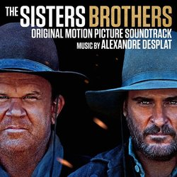 The Sisters Brothers Soundtrack (Alexandre Desplat) - CD cover
