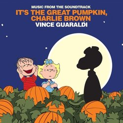 It's the Great Pumpkin, Charlie Brown Colonna sonora (Vince Guaraldi) - Copertina del CD