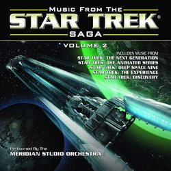 Music from Star Trek Saga Volume 2 Soundtrack (Various Artists) - CD cover