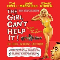 The Girl Can't Help It Soundtrack (Various Artists, Leigh Harline, Lionel Newman) - CD cover