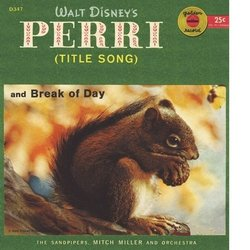 Perri Soundtrack (Various Artists, Paul J. Smith) - CD cover